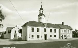 Östhammar - Rådhustorget  Rådhuset (1)